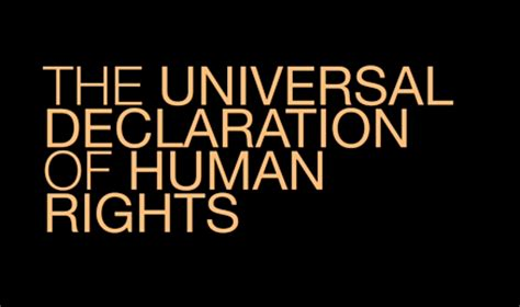 Night by Elie Wiesel and the Universal Declaration of